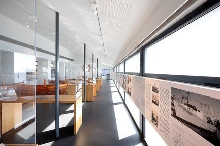 Dossier de presse | 1150-01 - Communiqué de presse | Lunel et Sète offrent deux nouveaux musées à la région Languedoc Roussillon - C+D Architecture - Architecture institutionnelle - Musée de la Mer à Sète, France - Crédit photo : Marie Caroline Lucat