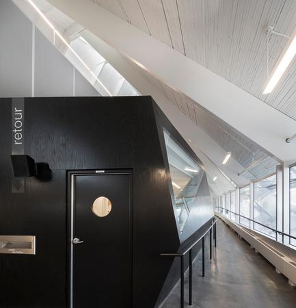 Press kit | 1123-01 - Press release | Monique Corriveau-Library - Dan Hanganu + Côté Leahy Cardas architectes - Institutional Architecture - Photo credit: Stéphane Groleau