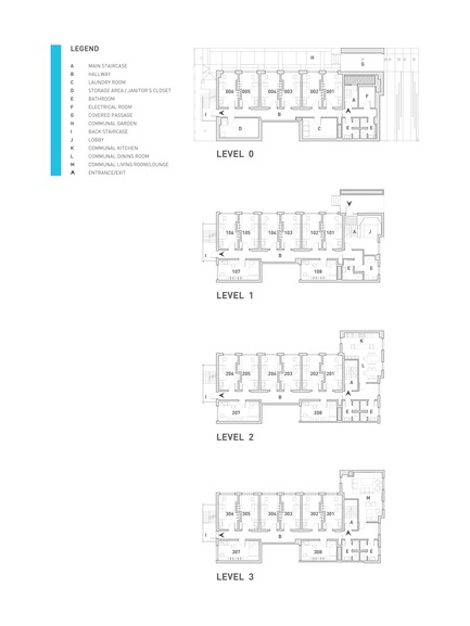 Press kit | 1057-03 - Press release | Edison Residence - KANVA - Residential Architecture - Floor plans - Photo credit: Drawings by KANVA