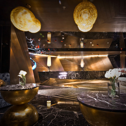 "Dossier de presse | 902-02 - Communiqué de presse | A' Design Awards 2014 Les Gagnants Annoncés - A' Design Award and Competition - Concours - De Kang Club <br>Commercial Space by Yong Cai Huang<br><br>PROJECT DESCRIPTION:<br>Dekang is a SPA and entertainment one of the commercial projects. Background Analysis: the rapid development of China's urbanization progress, the data show: In the 30 years of reform and opening to increase more than 500 million urban population, which means the energy shortage and environmental broken, fast paced city life of human beings and human communication has become extravagant demands. Therefore: Dekang design concept will be located in ""urban landscape"" as the basic clue to respond to the demands of modern urban life. - Crédit photo : Yong Cai Huang, 2013."