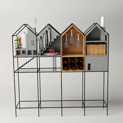 "Press kit | 902-02 - Press release | A' Design Awards 2014 Winners Announced - A' Design Award and Competition - Competition - Baan <br>Dinner set cupboard by Mr.Paitoon Keatkeereerut,Chawin Hanjing<br><br>PROJECT DESCRIPTION:<br>""Baan"" is a type of cupboard which is specifically designed for the purpose of dinner usage. The strengths and unique appearance is narrative that is related by function. There are several distinguishing features of cabinet systems. The different functions and features of cupboard that are separated by story, such as The Cutlery insert and Box of tissues are represented by fireplace and chimney. Furthermore, The wine glasses are represented by a chandelier and Dish rack is symbolized by the staircase. There are four main components of house whereby narrative ideas can be used to support daily life. - Photo credit: Paitoon Keateereerut,Supanee suriwong,BAAN,2013."