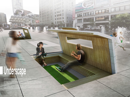 Press kit | 1168-02 - Press release | Toronto's Yonge Street To Become More Pedestrian-Friendly - NXT City Prize - Competition - Underscape - Photo credit:           NXT City Prize
