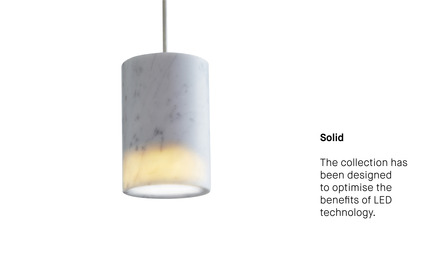 Press kit | 1191-01 - Press release | An Industry first: Terence Woodgate's lighting collection 'Solid' packaged with Bluetooth-controlled LED light bulb. - Terence Woodgate - Lighting Design - Photo credit: Terence Woodgate