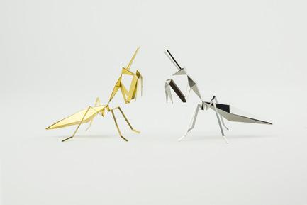 Press kit | 1196-01 - Press release | Poligon Launches on Kickstarter - Poligon - Product - Praying Mantis<br> - Photo credit:            Poligon<br>