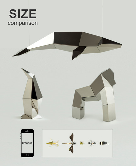 Press kit | 1196-01 - Press release | Poligon Launches on Kickstarter - Poligon - Product - Size comparison<br> - Photo credit:            Poligon<br>