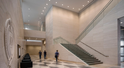 Press kit | 1204-01 - Press release | New Fordham Law School by Pei Cobb Freed & Partners to be Dedicated on September 18 - Pei Cobb Freed & Partners - Institutional Architecture - Lobby - Photo credit: Paul Warchol