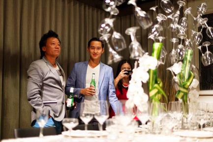 Dossier de presse | 1176-05 - Communiqué de presse | IDSWest sparkles with Bottega S.P.A. - Interior Design Show Vancouver (IDS Vancouver) - Event + Exhibition - Dinner by Design - Crédit photo :    Photo courtesy IDSwest