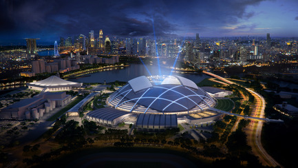 Press kit | 661-25 - Press release | 2014 Winners announced Day two - World Architecture Festival (WAF) - Competition - Singapore Sports Hub by Singapore Sports Hub Design Team