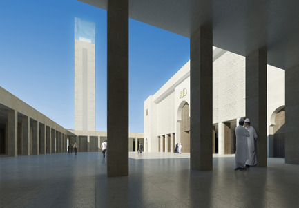 Press kit | 1188-02 - Press release | The Marseille Grand Mosque - Bureau Architecture Méditerranée - Institutional Architecture - Photo credit: Bureau Architecture Méditerranée