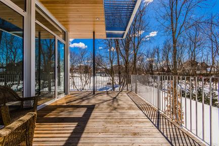 Dossier de presse | 1172-03 - Communiqué de presse | Slate House - Affleck de la Riva architects - Architecture résidentielle - Crédit photo : ©Alexandre Parent