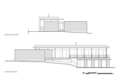 Dossier de presse | 1172-03 - Communiqué de presse | La Maison d'Ardoise - Affleck de la Riva architectes - Architecture résidentielle -  Plan  - Crédit photo :  © Affleck de la Riva