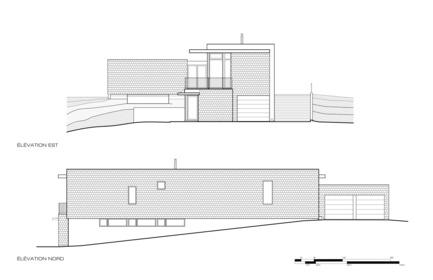 Dossier de presse | 1172-03 - Communiqué de presse | Slate House - Affleck de la Riva architects - Architecture résidentielle -  Plan  - Crédit photo :  © Affleck de la Riva