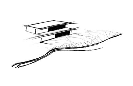 Dossier de presse | 1172-03 - Communiqué de presse | Slate House - Affleck de la Riva architects - Architecture résidentielle -  Schema  - Crédit photo :  © Affleck de la Riva