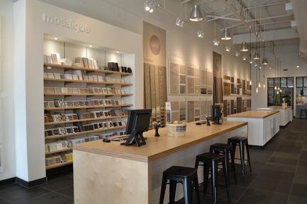 Dossier de presse | 846-15 - Communiqué de presse | Ouverture d'un 6e Atelier-boutique Céragrès au Quartier DIX30 - Céragrès - Design d'intérieur commercial - Crédit photo : Céragrès