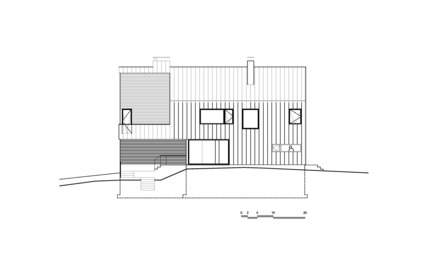 Press kit | 880-05 - Press release | Malbaie VIII Residence, La Grange - MU Architecture - Residential Architecture