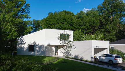 Press kit | 1010-02 - Press release | blanc papier / paperwhite - Jean Verville architecte - Residential Architecture - Photo credit: Jean Verville architecte