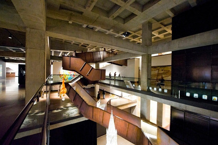 Press kit | 1124-03 - Press release | World Interiors News Annual Awards 2014 Winners Announced - World Interiors News - Competition - Winner of Museum or Exhibition Spaces Category<br>MONA (Museum of Old and New Art) by Fender Katsalidis  - Photo credit: &nbsp;Leigh Carmichael