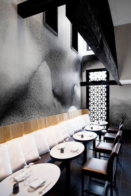 Press kit | 1124-03 - Press release | World Interiors News Annual Awards 2014 Winners Announced - World Interiors News - Competition - Winner of Restaurant Interiors Category<br>Kinugawa by Gilles &amp; Boissier  - Photo credit: Matthieu Salvaing<span></span>