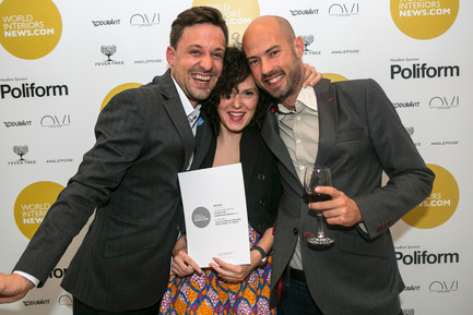 Press kit | 1124-03 - Press release | World Interiors News Annual Awards 2014 Winners Announced - World Interiors News - Competition - World Interiors News Annual Awards ceremony 2014 <br> - Photo credit: Pete Jones Productions, www.pjproductions.co.uk