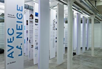 Press kit | 763-13 - Press release | La Maison de l'architecture du Québec et Audiotopie aux Vingt-quatre heures d'architecture à Marseille | Vivre et concevoir avec la neige au Québec - Maison de l'architecture du Québec - Event + Exhibition
