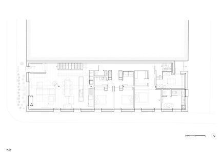 Dossier de presse | 1072-02 - Communiqué de presse | Le 205 - Atelier Moderno - Design d'intérieur résidentiel - Plan - Crédit photo : Atelier Moderno<br>