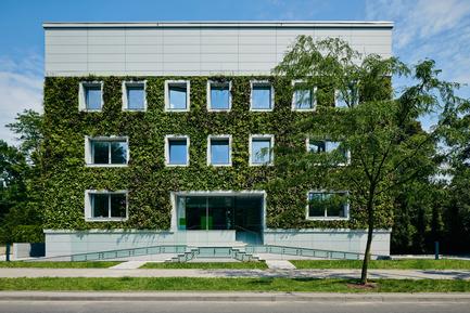 Press kit | 1139-03 - Press release | Foundation for Polish Science Headquarters - FAAB Architektura - Commercial Architecture - Front elevation - Photo credit: Bartłomiej Senkowski © FAAB Architektura