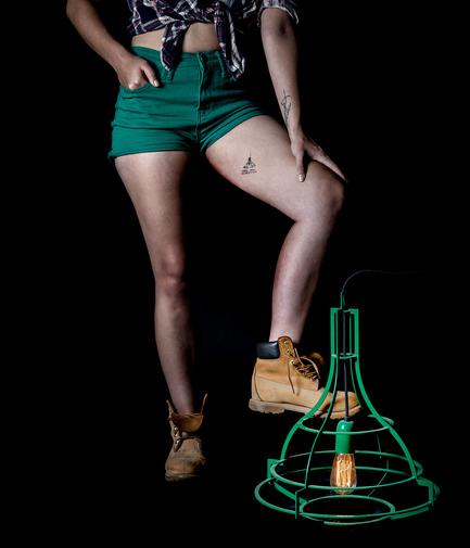 Press kit | 1577-01 - Press release | The Slims lighting collection: pure structure contour - Studio Beam - Lighting Design - Slim Ellie-Mae by studio Beam - Photo credit: Yoav Gurin
