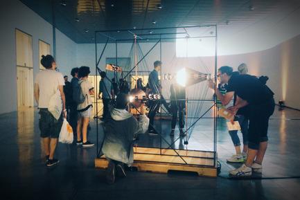 Dossier de presse | 1097-03 - Communiqué de presse | Machines itinérantes entre passé et futur pour le Art Directors Club de New York - Les Ateliers Guyon - Produit - carrousel à diapositives - Crédit photo : Simon Chenier et Les Ateliers Guyon