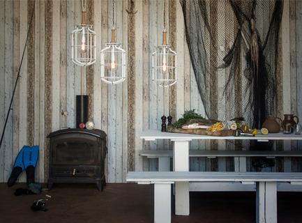 Dossier de presse | 1577-02 - Communiqué de presse | Winter breeze: The Mariner collection - Studio Beam - Lighting Design - Mariner White by studio Beam - Crédit photo : Yoav Gurin