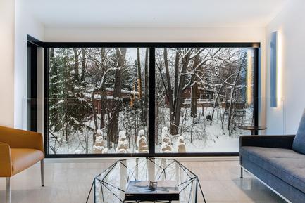 Dossier de presse | 788-02 - Communiqué de presse | Résidence Du Tour - FX Studio par Clairoux - Design d'intérieur résidentiel - design intérieur contemporain - Crédit photo : JB Valiquette