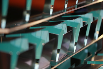 Press kit | 673-10 - Press release | GalaGRANDS PRIX DU DESIGN 8e édition. Et les lauréats sont... - Agence - Évènement + Exposition - trophées - Photo credit: Huppé studio