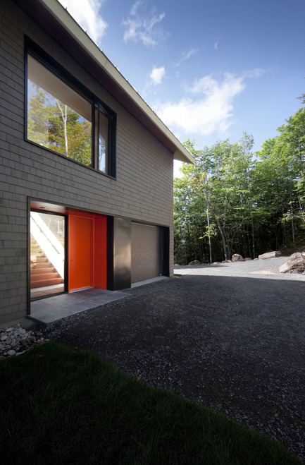 Press kit | 759-09 - Press release | Panorama house - Blouin Tardif Architecture-Environnement - Residential Architecture - Photo credit: Steve Montpetit