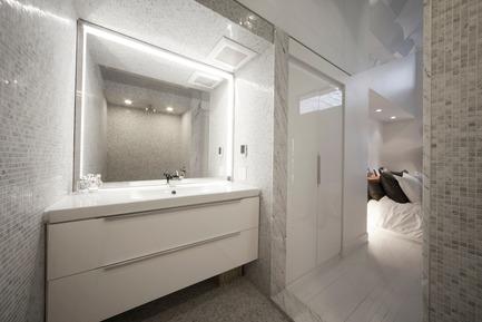 Dossier de presse | 1142-03 - Communiqué de presse | Juliette aux combles - L. McComber - Architecture résidentielle - Bathroom - Crédit photo : Steve Montpetit