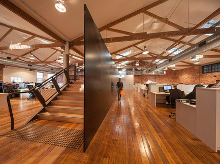 Press kit | 1124-04 - Press release | The World Interiors News Awards 2015 are open for entry - World Interiors News - Commercial Interior Design - T2 Headquarters, Melbourne, Australia by Landini Associates. Winner WIN Awards 2014 Workspace Interiors Less Than 10,000 Square Metres Category - Photo credit: Trevor Mein