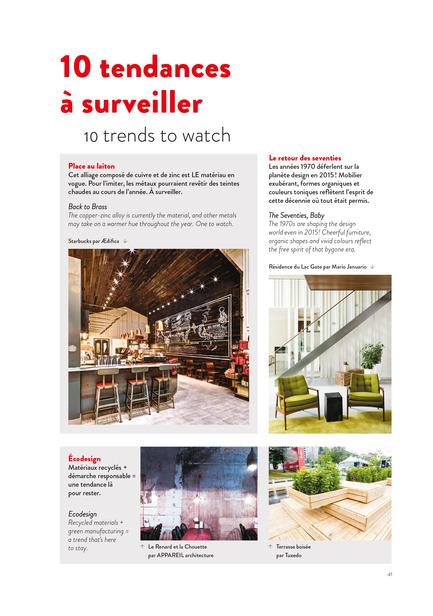 Dossier de presse | 611-17 - Communiqué de presse | Index-design launches the 6th edition of the Guide – 200 interior designers from Quebec - Index-Design - Edition - Tendances - Crédit photo : Index_design