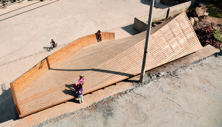 Press kit | 1625-01 - Press release | The Pinch,   library and community center - The University of Hong Kong, Olivier Ottevaere and John Lin - Institutional Architecture - Photo credit: Ottevaere/Lin