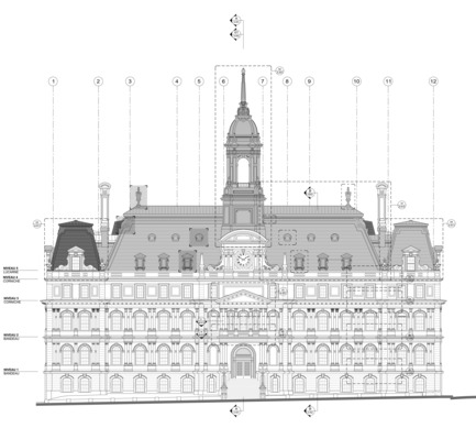 Press kit | 1172-05 - Press release | Montreal City Hall - Affleck de la Riva architects - Institutional Architecture - Photo credit:  Affleck de la Riva