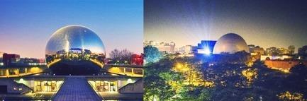 Dossier de presse | 670-12 - Communiqué de presse | La Société des arts technologiques de Montréal [SAT] etLa Géode de Paris s'associent afin de créer un corridor permanent d'échanges - Société des arts technologiques (SAT) - Art - Crédit photo : Société des arts technologiques de Montréal [SAT]<br>