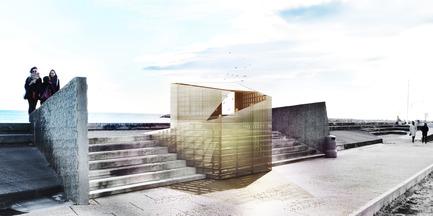 "Press kit | 982-22 - Press release | Festival des Architectures Vives - Presentationoftheteams andtheirprojects - Festival des Architectures Vives - Event + Exhibition - ""ORIGAMIC""<br>Klest PANGO - Photo credit: Klest PANGO / FAV 2015"