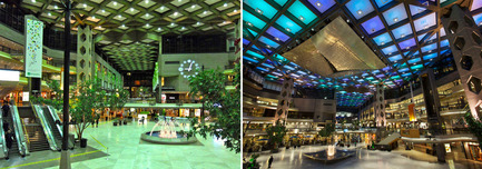 Dossier de presse | 621-20 - Communiqué de presse | A Dynamic NewLighting Signature for Complexe Desjardins - Lightemotion - Lighting Design -  Complexe Desjardins - Retail Concourse - Before and After   - Crédit photo : LIghtemotion