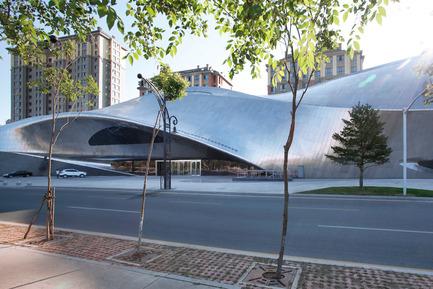 Dossier de presse | 809-15 - Communiqué de presse | Azure announces the finalists of the fifth annual AZ Awards - Azure Magazine - Competition - Commercial ⁄ Institutional Architecture Over 1,000Square Metres: MAD Architects: China Wood Sculpture Museum, Harbin, China<br> - Crédit photo :  AZ Awards 2015