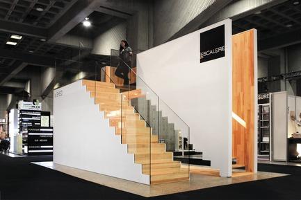 Press kit | 673-05 - Press release | Et les lauréats de la 7e édition des Grands Prix du Design sont… - Agence PID - Competition - CATÉGORIE ESPACE COMMERCIALPRIX STAND DE MOINS DE 400 pi2La SHED architectureL'Escalerie - Photo credit: La SHED architecture