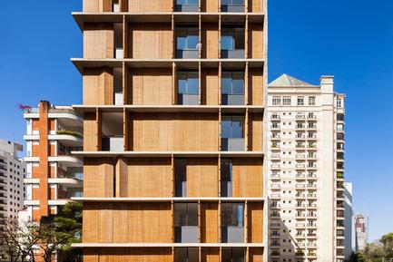 Dossier de presse | 809-15 - Communiqué de presse | Azure announces the finalists of the fifth annual AZ Awards - Azure Magazine - Concours - Residential Architecture – Multi-Unit: Studio MK27: Vertical Itaim, São Paulo, Brazil<br> - Crédit photo :  AZ Awards 2015