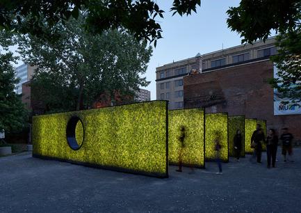 Dossier de presse | 809-15 - Communiqué de presse | Azure announces the finalists of the fifth annual AZ Awards - Azure Magazine - Competition - Temporary /Demonstration Architecture: Architecturama: Hedge, Montreal, Canada<br> - Crédit photo :  AZ Awards 2015