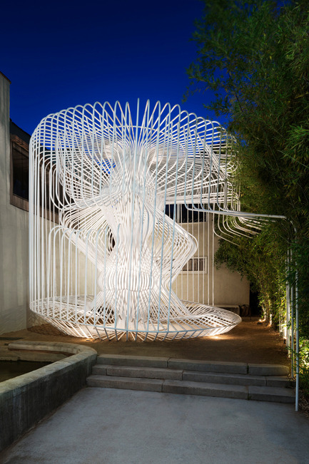 Dossier de presse | 809-15 - Communiqué de presse | Azure announces the finalists of the fifth annual AZ Awards - Azure Magazine - Competition - Temporary / Demonstration Architecture: Warren Techentin Architecture: La Cage aux Folles, Los Angeles, USA<br> - Crédit photo :  AZ Awards 2015