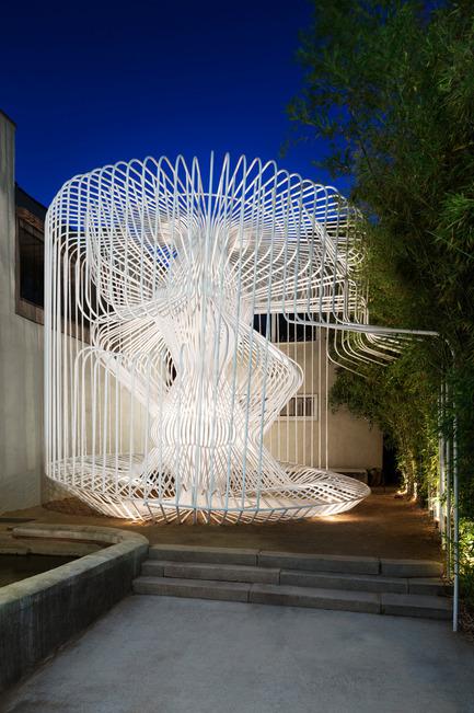 Dossier de presse | 809-15 - Communiqué de presse | Azure announces the finalists of the fifth annual AZ Awards - Azure Magazine - Concours - Temporary / Demonstration Architecture: Warren Techentin Architecture: La Cage aux Folles, Los Angeles, USA<br> - Crédit photo :  AZ Awards 2015