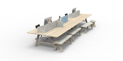 Dossier de presse | 809-15 - Communiqué de presse | Azure announces the finalists of the fifth annual AZ Awards - Azure Magazine - Concours - Furniture Systems: BuzziSpace: BuzziPicNic, by Alain Gilles<br> - Crédit photo :  AZ Awards 2015