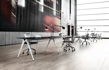 Dossier de presse | 809-15 - Communiqué de presse | Azure announces the finalists of the fifth annual AZ Awards - Azure Magazine - Competition - Furniture Systems: Randers + Radius: Grip Tablesystem, by GrumDesign<br> - Crédit photo :  AZ Awards 2015