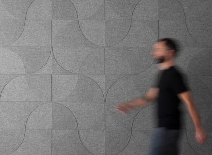 Dossier de presse | 809-15 - Communiqué de presse | Azure announces the finalists of the fifth annual AZ Awards - Azure Magazine - Concours - Interior Products: Submaterial: Figure No. 1 and 2, by David Hamlin<br> - Crédit photo :  AZ Awards 2015