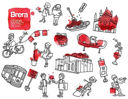 Dossier de presse   1128-03 - Communiqué de presse   Fuorisalone 2015: Project Formation Identity - Brera Design District - Event + Exhibition - Crédit photo : Renée Melo <br>